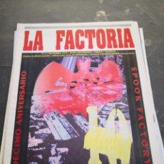 Coleccionismo Papel Varios: SPOOK FACTORY REVISTA LA FACTORIA 1994 N5. Lote 228454610