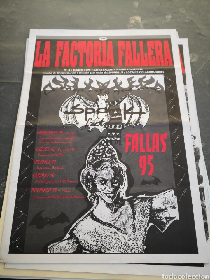 SPOOK FACTORY REVISTA LA FACTORIA N8 MARZO 1995 (Coleccionismo en Papel - Varios)