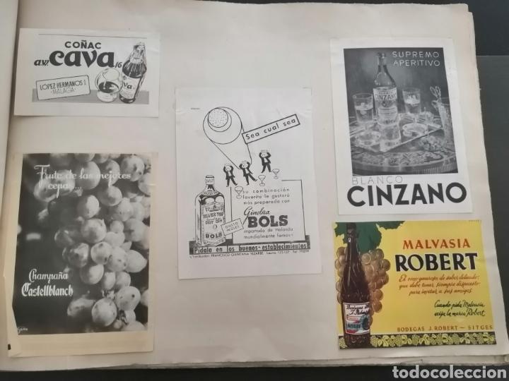 Coleccionismo Papel Varios: Album con 67 recortes de Publicidad años 50/60 - Foto 4 - 228583940