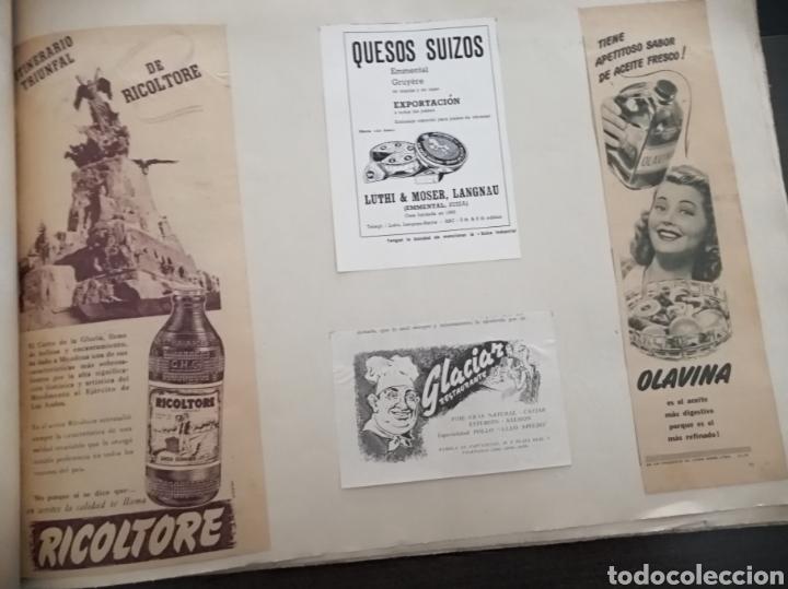 Coleccionismo Papel Varios: Album con 67 recortes de Publicidad años 50/60 - Foto 5 - 228583940