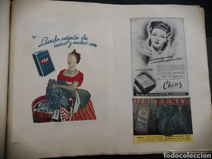 Coleccionismo Papel Varios: Album con 67 recortes de Publicidad años 50/60 - Foto 10 - 228583940