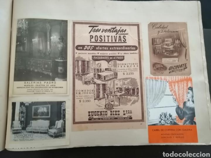 Coleccionismo Papel Varios: Album con 67 recortes de Publicidad años 50/60 - Foto 14 - 228583940