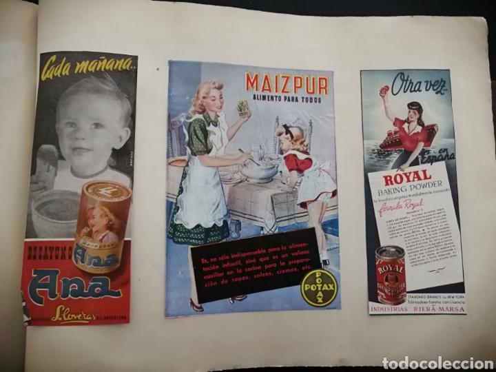 Coleccionismo Papel Varios: Album con 67 recortes de Publicidad años 50/60 - Foto 20 - 228583940