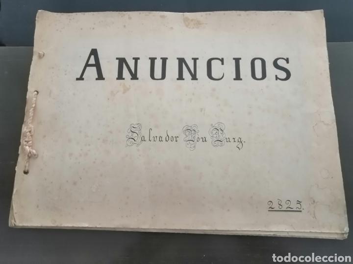 ALBUM CON 67 RECORTES DE PUBLICIDAD AÑOS 50/60 (Coleccionismo en Papel - Varios)