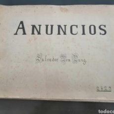 Coleccionismo Papel Varios: ALBUM CON 67 RECORTES DE PUBLICIDAD AÑOS 50/60. Lote 228583940