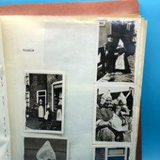 Coleccionismo Papel Varios: LIBRO ARTESANAL APUNTES DE VIAJE HOLANDA ANO 1948 TEXTO,FOTOGRAFÍAS,FOTOCROMOS,MAPAS. Lote 228660010