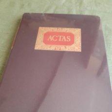 Coleccionismo Papel Varios: LIBRO DE ACTAS, NUEVO SIN ESTRENAR MIQUELRIUS PARA CONTABILIDAD, SOCIEDADES,.... Lote 228860060