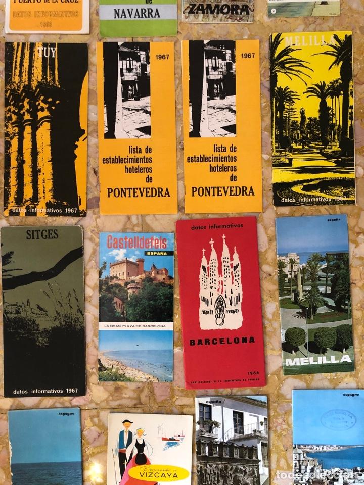 Coleccionismo Papel Varios: Folletos turísticos lote de 23 folletos desplegables de diferentes sitios de España - Foto 3 - 229028095