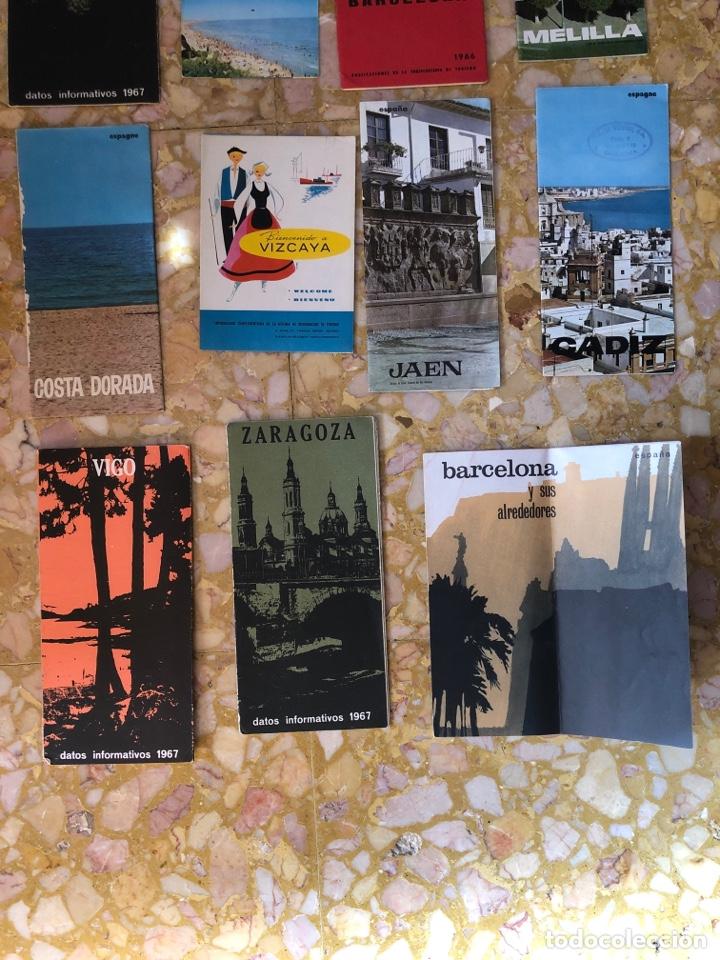 Coleccionismo Papel Varios: Folletos turísticos lote de 23 folletos desplegables de diferentes sitios de España - Foto 4 - 229028095
