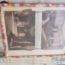 Coleccionismo Papel Varios: RECORTE DE PERIÓDICO ENMARCADO SALONES LUJOSOS. Lote 230299850