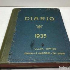 Coleccionismo Papel Varios: DIARIO AÑO 1935 - ULLOA OPTICOS MADRID. Lote 230704205