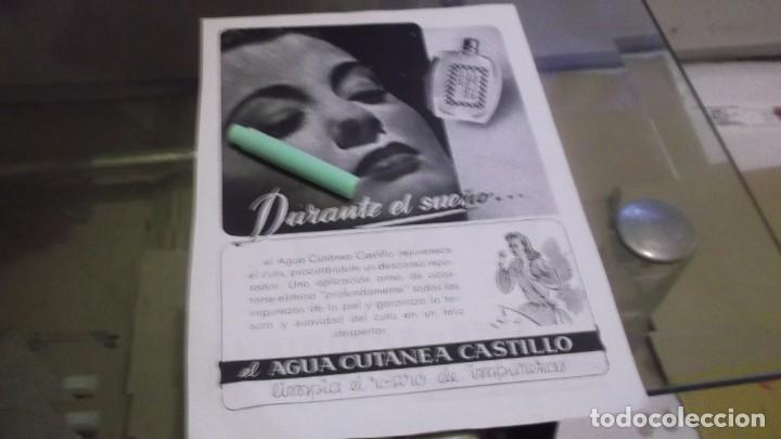 Coleccionismo Papel Varios: RECORTE PUBLICIDAD AÑO 1945-50 ANIVERSARIO ANIS DE LA ASTURIANA-OVIEDO.ATRAS.AGUA CUTÁNE EL CASTILLO - Foto 2 - 230996200