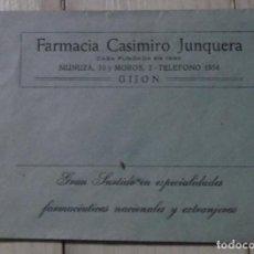 Coleccionismo Papel Varios: SOBRE DE FARMACIA ANTIGUO. Lote 231246085