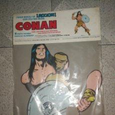 Coleccionismo Papel Varios: CONAN 8 PARTES MOBILES PARA MONTAR. Lote 232745071