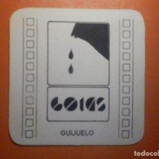 Coleccionismo Papel Varios: POSAVASOS PUBS Y DISCOTECAS - GOTAS - GUIJUELO - SALAMANCA. Lote 232972968