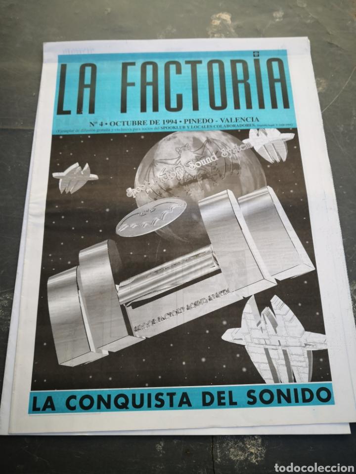 SPOOK FACTORY REVISTA LA FACTORIA N4 OCTUBRE 1994 (Coleccionismo en Papel - Varios)