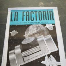 Coleccionismo Papel Varios: SPOOK FACTORY REVISTA LA FACTORIA N4 OCTUBRE 1994. Lote 233676205