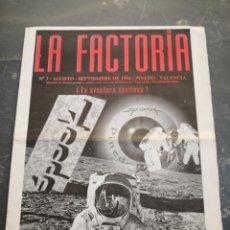 Coleccionismo Papel Varios: SPOOK FACTORY REVISTA LA FACTORIA N3 AGOSTO 1994 DISCOTECA VALENCIA RUTA BAKALAO AÑO 90. Lote 233676210