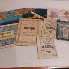Coleccionismo Papel Varios: 8 LIBRETOS PARA PUNTO DE CRUZ Y PUNTO DE MARCA / MUY BUEN ESTADO / VER FOTOS.. Lote 233840650
