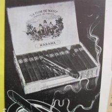 Altri oggetti di carta: PUBLICIDAD 1953 - LA FLOR DE MAYO PUROS HABANO HABANA CUBA - TAMAÑO 13 X 19 CM.. Lote 234679490
