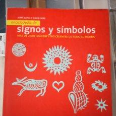 Coleccionismo Papel Varios: LIBRO SÍMBOLOS Y SIGNOS GEOMETRÍAS ARTE PINTURAS. Lote 234803985