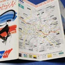 Coleccionismo Papel Varios: PARIS-FRANCIA PLANO Y MAPA GALERIA LAFAYETTE AÑO 1997 VER FOTO ADICIONAL. Lote 235162025