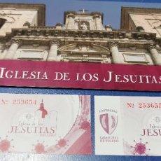 Coleccionismo Papel Varios: IGLESIA DE LOS JESUITAS TOLEDO DESPLEGABLE VER FOTOS. Lote 235163110