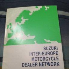Coleccionismo Papel Varios: MANUAL SUZUKI INTER EUROPE. Lote 235179975