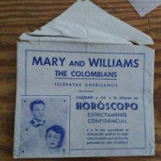 Coleccionismo Papel Varios: SOBRE PUBLICITARIO. Lote 235353380