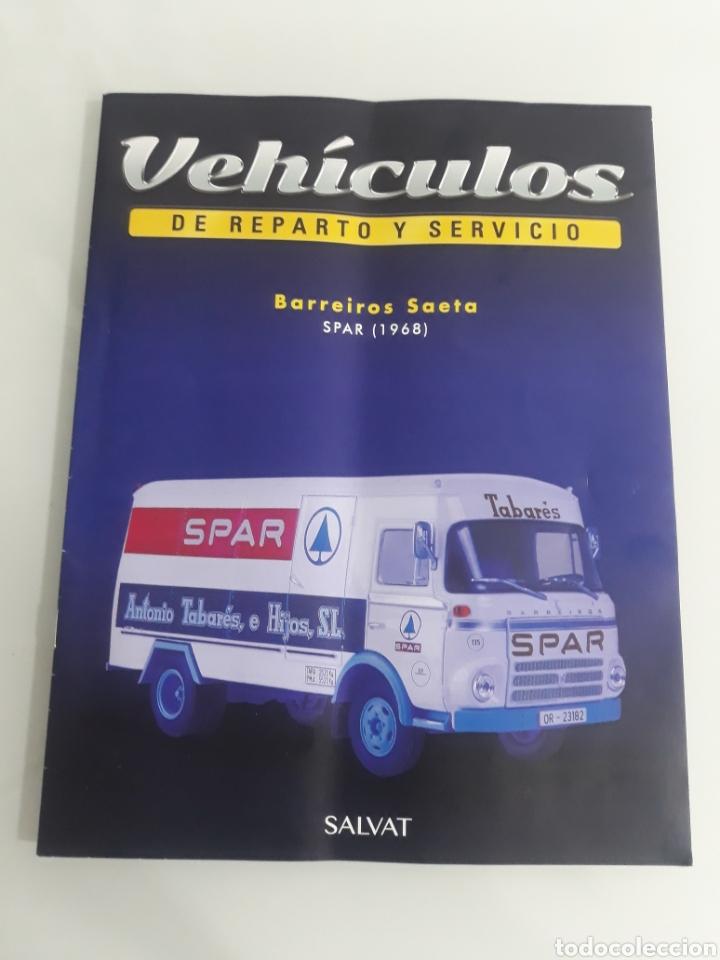FASCÍCULO BARREIROS SAETA SPAR 1968 CHRYSLER DODGE (Coleccionismo en Papel - Varios)