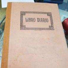 Coleccionismo Papel Varios: ANTIGUO LIBRO DE CUENTAS PAQUITA MARTINEZ TORRES COMERCIO SELLO ACADEMIA COTS 1945 MURCIA. Lote 236332850