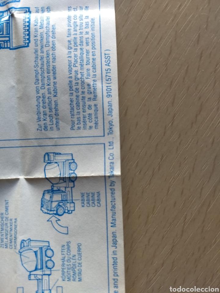 Coleccionismo Papel Varios: Instrucciones Transformers Devastator. 1984 - Foto 4 - 236503420