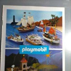 Altri oggetti di carta: PUBLICIDAD PLAYMOBIL FAMOBIL LANCHA BARCO CASTILLO PATRULLERA PARQUE TENTE ROBLOCK EXIN. Lote 237138380