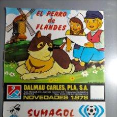 Coleccionismo Papel Varios: PUBLICIDAD EL PERRO DE FLANDES ARTENTINA 78 SUMAGOL PETROPOLIS BORRAS. Lote 237551125
