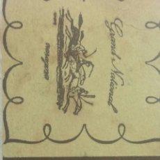 Coleccionismo Papel Varios: ZARAGOZA POSAVASOS BAR NOVECENTO. Lote 239729150