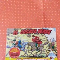 Coleccionismo Papel Varios: FACSÍMIL NÚMERO 1 DE EL COSACO VERDE INCLUIDO EN LA EDICIÓN DE 1991 DEL CAPITÁN TRUENO. Lote 240670985