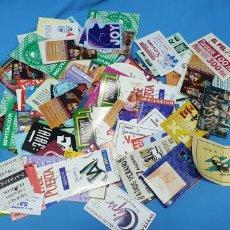 Collectionnisme Papier divers: LOTE INVITACIONES DE DISCOTECA, MAS DE 180 - XCALIBUR / METRO / EL PELOTAZO / CHAPLIN. Lote 240810245