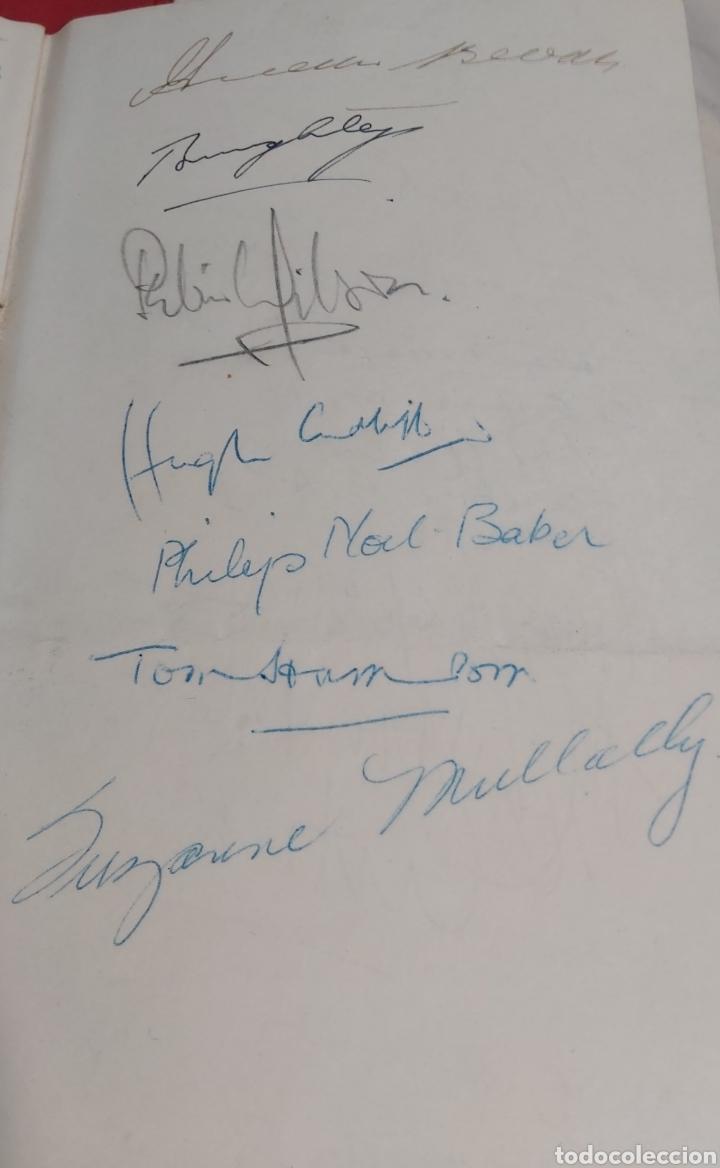 Coleccionismo Papel Varios: INVITACION SUNDAY PICTORIAL/MIRROR OLIMPIADAS 1948. FIRMA PHILIP NOEL BAKER. BURGHLEY. HUGH CUDLIPP - Foto 2 - 241995185
