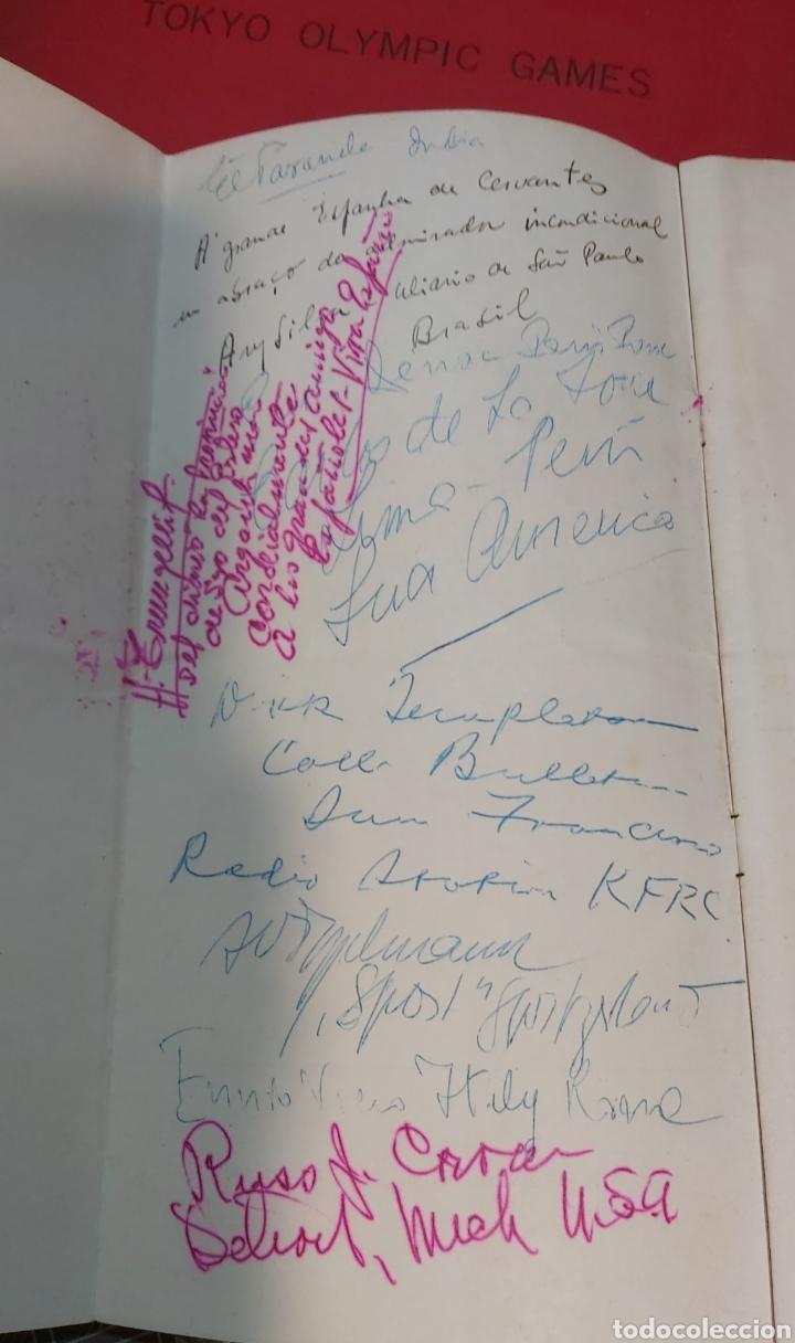 Coleccionismo Papel Varios: INVITACION SUNDAY PICTORIAL/MIRROR OLIMPIADAS 1948. FIRMA PHILIP NOEL BAKER. BURGHLEY. HUGH CUDLIPP - Foto 3 - 241995185