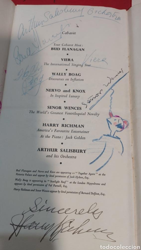 Coleccionismo Papel Varios: INVITACION SUNDAY PICTORIAL/MIRROR OLIMPIADAS 1948. FIRMA PHILIP NOEL BAKER. BURGHLEY. HUGH CUDLIPP - Foto 5 - 241995185