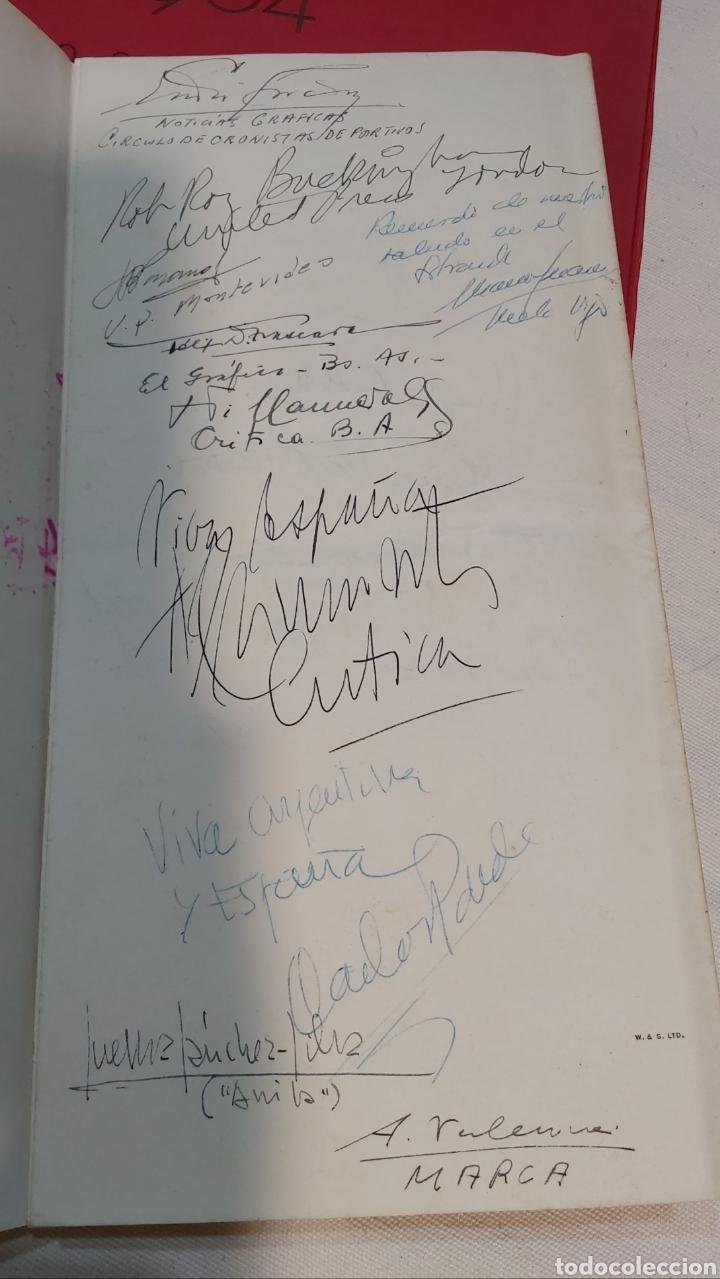 Coleccionismo Papel Varios: INVITACION SUNDAY PICTORIAL/MIRROR OLIMPIADAS 1948. FIRMA PHILIP NOEL BAKER. BURGHLEY. HUGH CUDLIPP - Foto 6 - 241995185