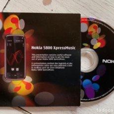 Coleccionismo Papel Varios: MANUAL INSTRUCCIONES + CE DVD-ROM TELÉFONO MÓVIL NOKIA 5800 XPRESSMUSIC. Lote 244187915