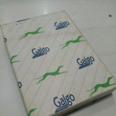 Coleccionismo Papel Varios: PAQUETE 500 FOLEOS GALGO A4 70 GR. SIN ABRIR. Lote 244447430