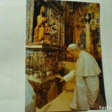 Coleccionismo Papel Varios: ESTAMPA CATALAN ORACION JUAN PABLO II EN MONTSERRAT. Lote 244452515