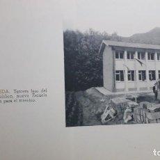 Collectionnisme Papier divers: VALMASEDA.1963. INAUGURACION NUEVA ESCUELA Y CASA DEL MAESTRO.EXTRAIDO DE REVISTA DIPUTACION VIZCAYA. Lote 244762085