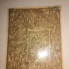 Altri oggetti di carta: ESTAMPA MARE DE DEU MONTSERRAT 20X15. Lote 244833935