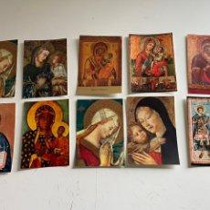Coleccionismo Papel Varios: LOTE DE POSTALES RELIGIOSAS. Lote 245039750