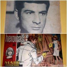 Coleccionismo Papel Varios: MARY NOTICIAS COLECCIÓN HEROINAS Nº 191 REVERSO JEAN CLAUDE BRIALY. Lote 245073085