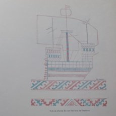 Collectionnisme Papier divers: ARTES POPULARES EN VIZCAYA:YUGOS, ALDABAS,CANDELABROS, VELETA DE ERANDIO,RUECAS,CERAMICA DE BUSTURIA. Lote 245158100