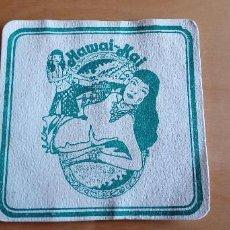 Outros artigos de papel: POSAVASOS BAR POLINESIO HAWAIIANO. HAWAI-KAI. Lote 245410265